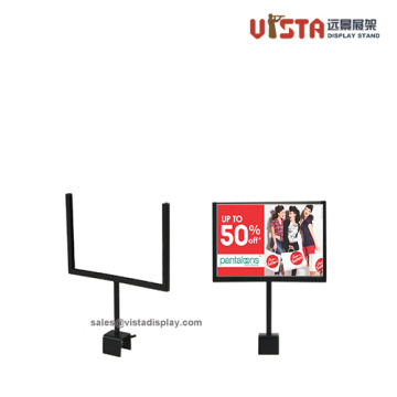 Metal Poster Displays For Clothes Sales