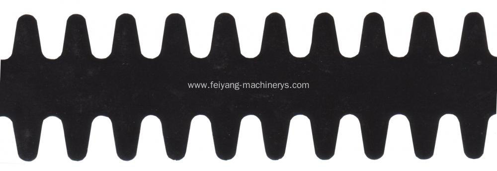 black tipping film for paper bag handle
