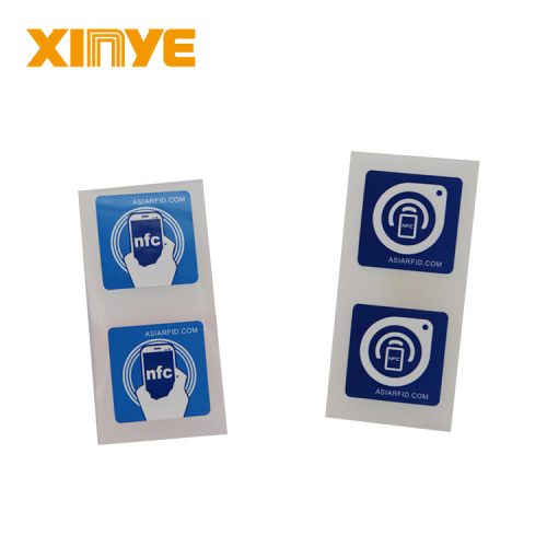 Customized Printing 13.56MHz RFID NFC Tags Stickers