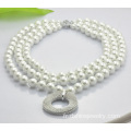 Collier de perles double couches Shamballa perles Imitation