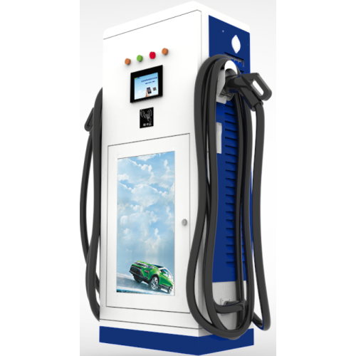 60KW vertical DC electric vehicle charging stations
