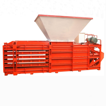 Corrugated cardboard hydraulic baling press machine