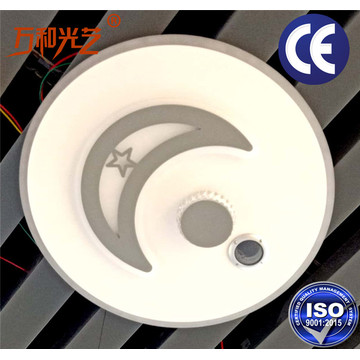 Led kitchen ceiling lamp with gas sensor