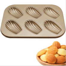 Madeleine 6pcs Shell Shaped Non-stick Cake Mould