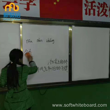 Classroom Magnetic Write White Board For School
