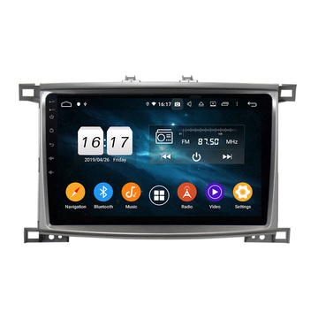 Android 9 car radio for LC100 VXR 2005