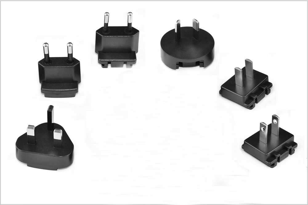 22V wall mount detachable Plug Power Adapter