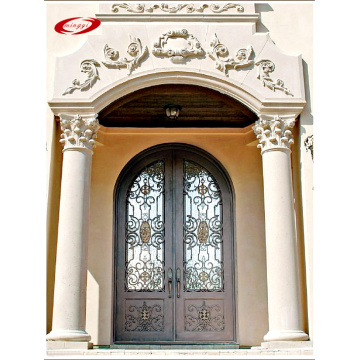 Glass And Iron Front Doors