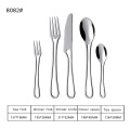 Elegant Stainless Steel Tableware