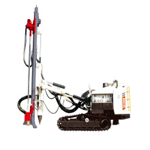 Low pressure DTH drilling rig