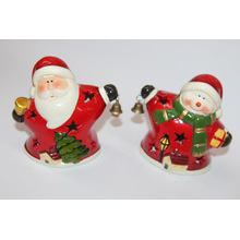 10cm European Style Xmas Ceramic Decorations