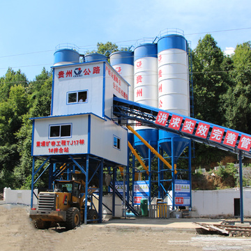 90m3 durable construction electric concrete batching plant