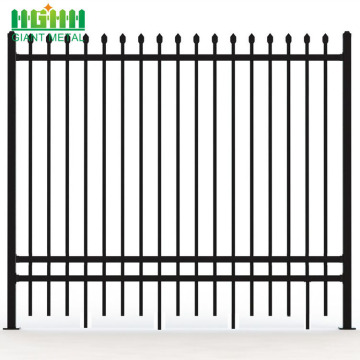 Decorative Metal Picket Used Wrought Iron Fence Panels