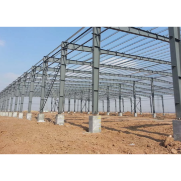 prefabricated industrial steel structure warehouse
