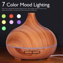 400ml Auto Off Safety Swtich Wood Diffuser Fragrance