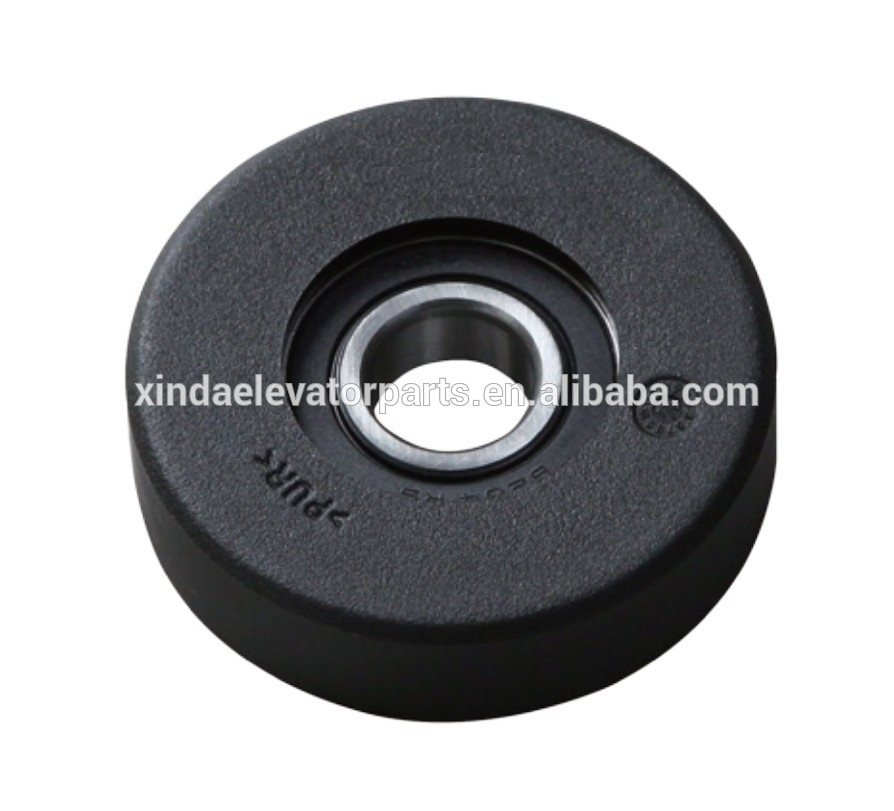 Step wheel 80x22 bearing 6204 for escalator spare part