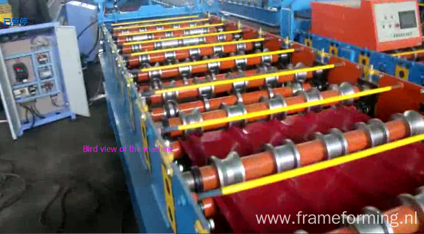 Metal Roofing Wall Sheet Panel Roll Forming Machine