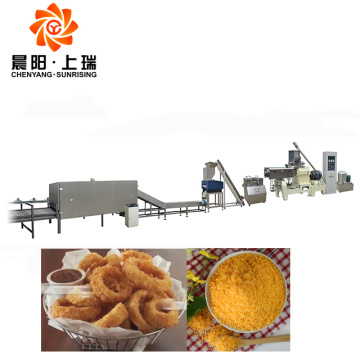 Bread crumb process extruder breadcrumb machine price