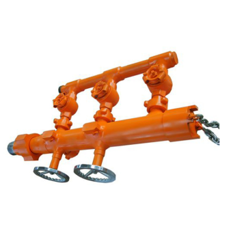 Pumping Single and Double Plug Cementing Head