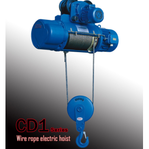3ton CD1/MD1 wire rope electric hoist