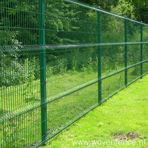 powder coated welded galvanized wire fence