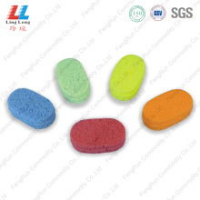 Oval Small stunning bath sponge