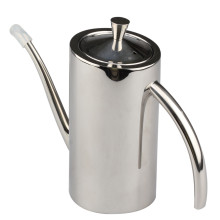 Stainless Steel Olive Oil Can Dispenser Pot