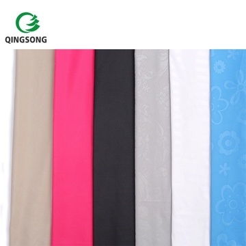Super Good Feel Polyester Custom Embossed Stretch Fabric