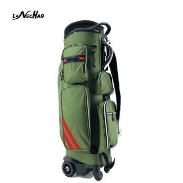 Best selling Custom Smart Design Golf Bag With Wheels Stand Golf Bag