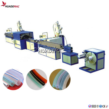 PVC Soft Fiber Pipe Making Machine