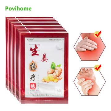 60pcs Hot Ginger Hypertherm Sticker Self-heating Rheumatism Arthritis Pain Killer Patch Chinese Herbal Medical Plaster D1558