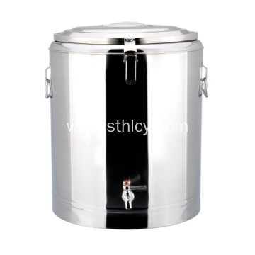 Non Magnetic Stainless Steel Insulation Pails With Tap