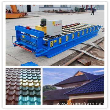color sheet glazed tile roll forming machine