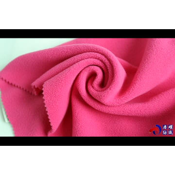 150D 280 gsm knitted polar fleece fabric