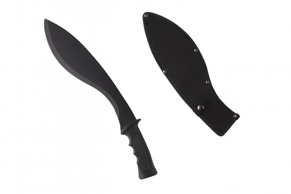 Black Blade Matchete Knife