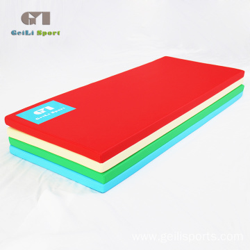 PU Folding Gymnastics Equipment Crash Mat For Gym