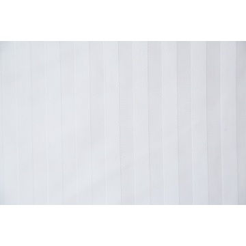 100% Polyester Bed Sheet 1cm embossed strip Fabric