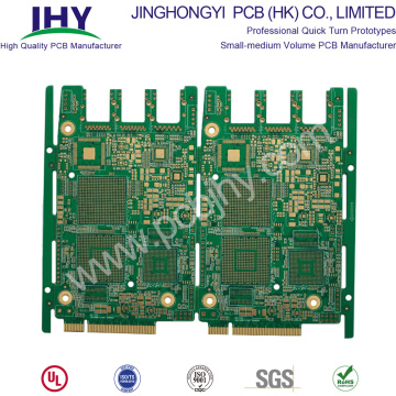 Multilayer PCB with Gold Finger