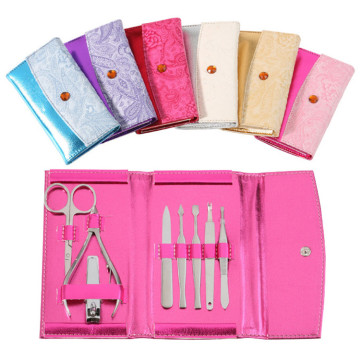 8pcs Travel Manicure Kit For Women