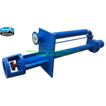 High efficiency submerged pump