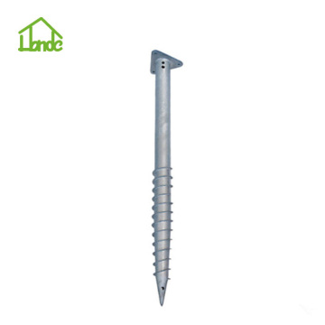 Ground Screw with Triangle Flange for Deck