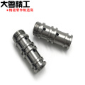 Precision hydraulic valve sleeve machining valve spool