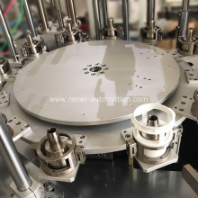 Turntable assembly line machinery parts assembly