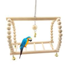 Parrot Toy Hanging Bridge Parrot Swing Parrot Suspension Bridge Stairs Swing Bird Supplies Bird Toys Pet Gifts