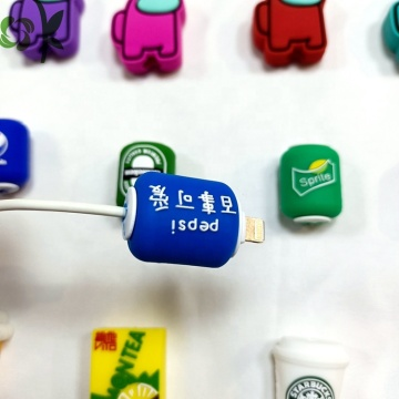 Cute Data Cable Protective Cover Cartoon Silicone Wire