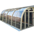 Enclosure Patio Sunroom Sun Room Retractable Glass House