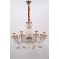 European Style Indoor Delicate K9 Crystal Pendant Lamps