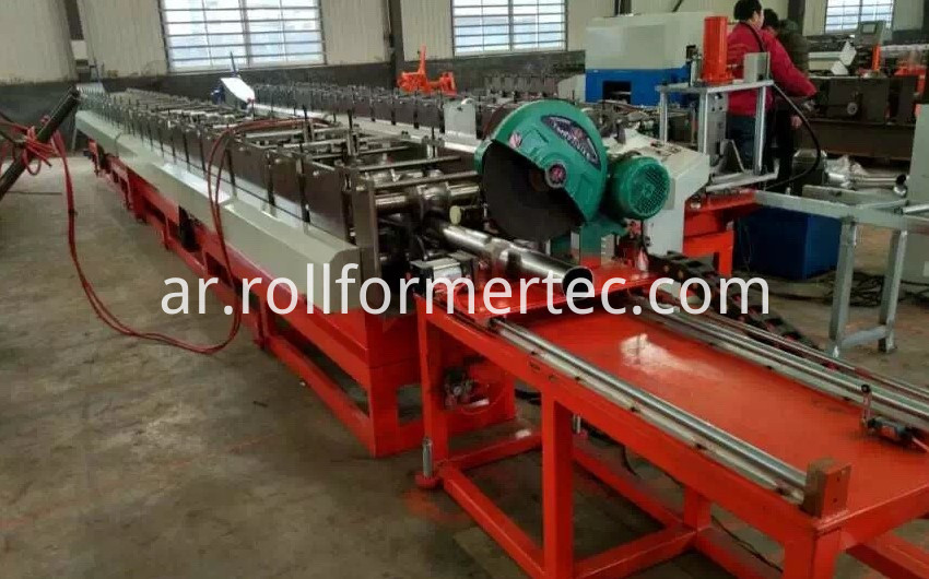 round tube roll forming machine 1