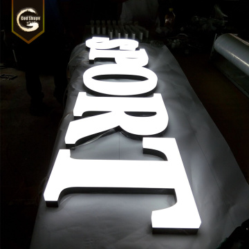 Architectural Full Lit LED Letters with Epoxy Resin Face