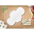 Organic disposable cotton menstrual pads for women